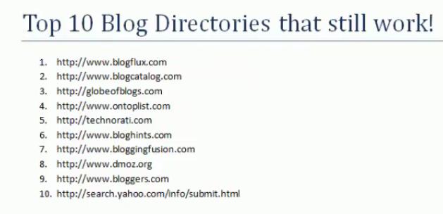 教你如何做英文博客提交网站外链