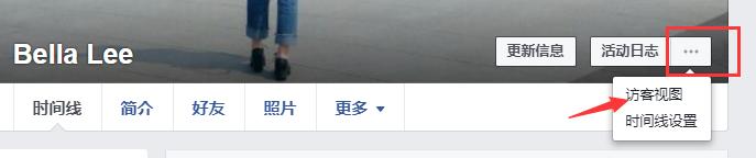 facebook访客视图
