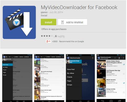 facebook视频下载app