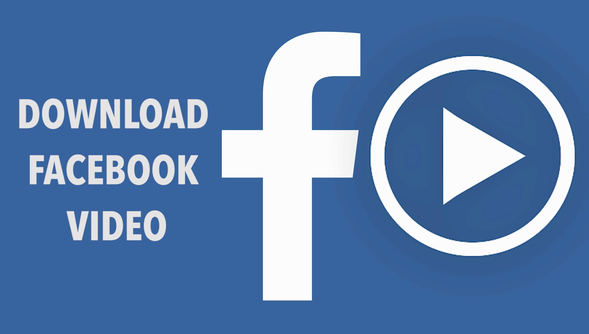 下载Facebook视频