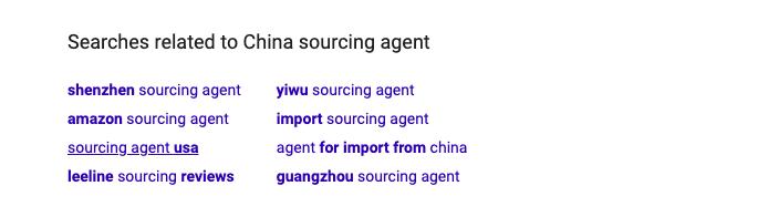 谷歌相关搜索