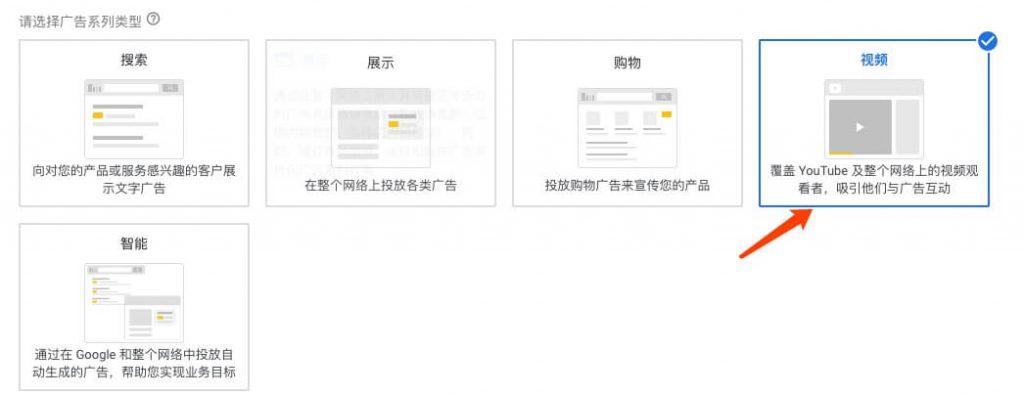 谷歌视频广告的投放