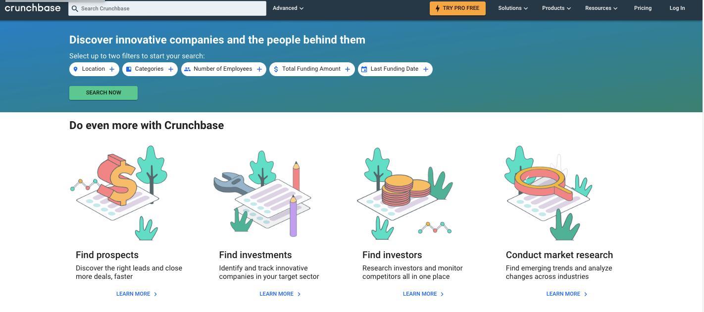 Crunchbase是什么?怎么用?