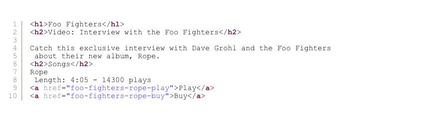 html 添加结构化数据