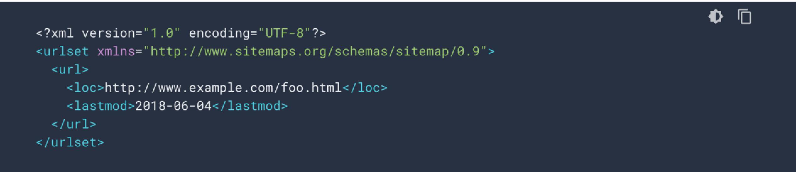 XML网站地图基础版本